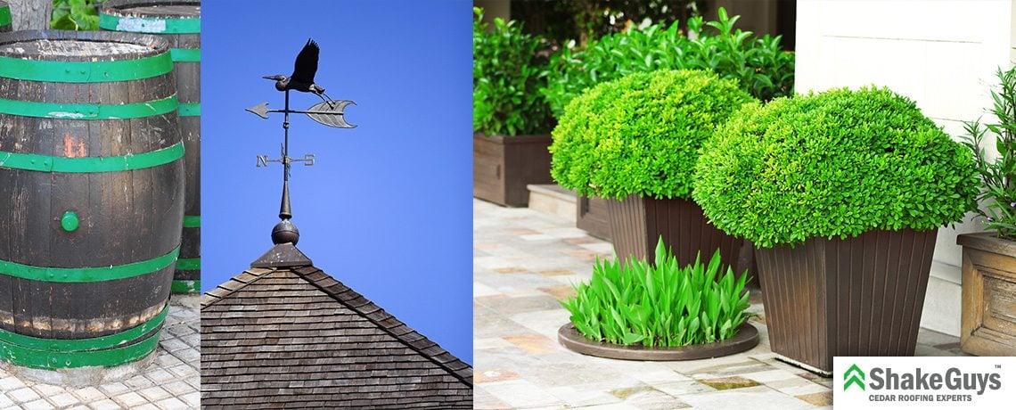 Which Cedar Roof Accessories Look Best?
