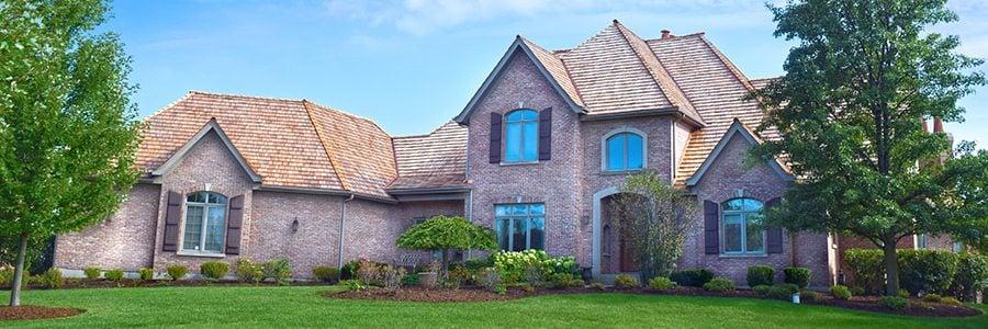 Cedar Shake roof in Kildeer, Illinois