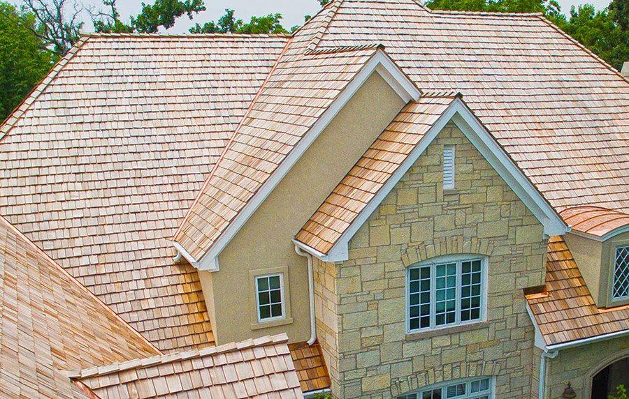 Recent Libertyville, Illinois cedar roof replacement