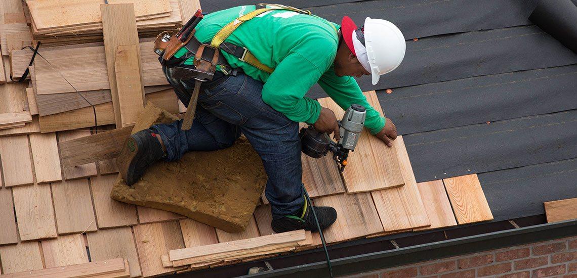 Cedar Roof Installation St. Charles, IL 60175