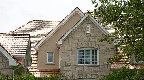 Ivanhoe cedar roof